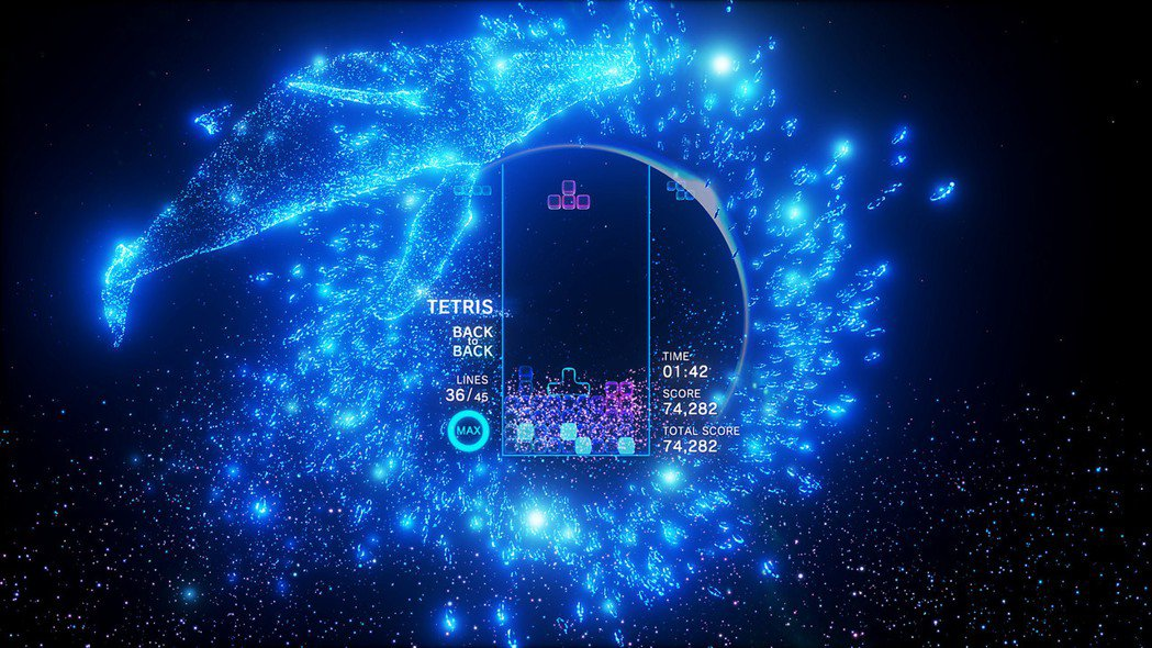 《Tetris Effect》,2018年11月9日發行的俄羅斯方塊遊戲。