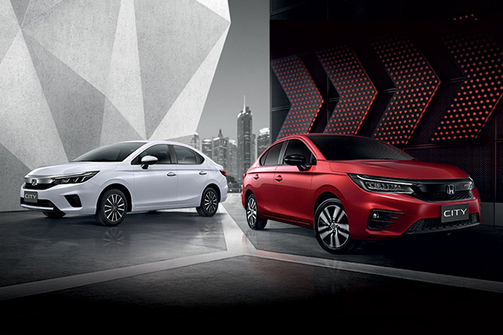 全新第五代Honda City泰國全球首發。 圖/Honda提供