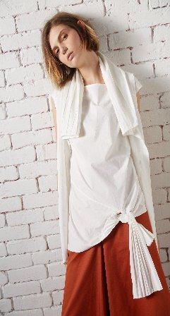 May Hsu是2014年由設計師徐明美所推出的同名品牌。 紡拓會/提供