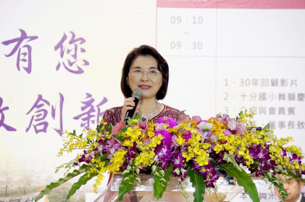 景文科技大學校長洪久賢致詞。劉美恩/攝影
