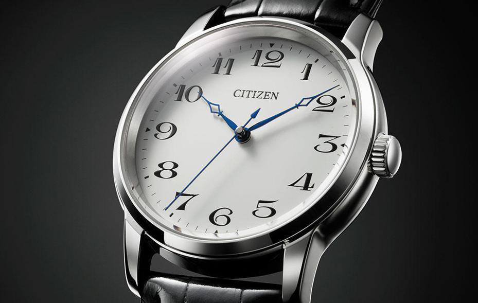 CITIZEN與GINZA TANAKA聯名腕表,採用鉑金製成表殼,限量16只,約112萬元。圖/摘自未来ショッピング