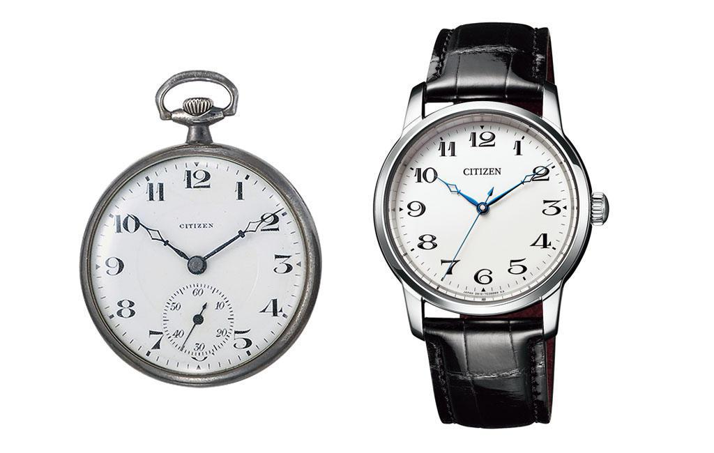 CITIZEN與GINZA TANAKA聯名腕表,設計概念源自品牌創作的第一只懷...