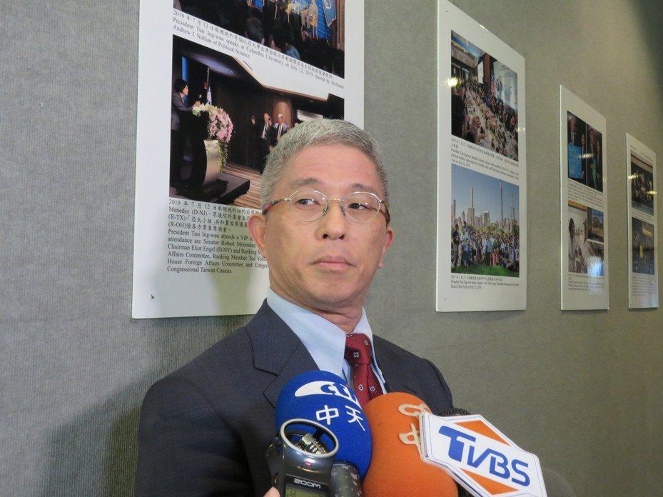外交部次長徐斯儉。報系資料照片