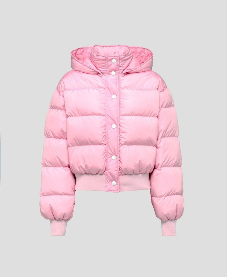 粉色連帽外套,33,800元。圖/MSGM提供