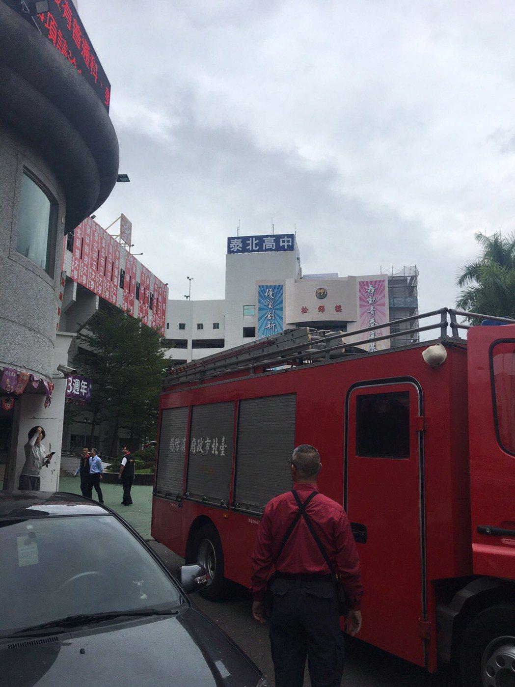 泰北高中驚傳墜樓案,幸無大礙。記者蕭雅娟/翻攝