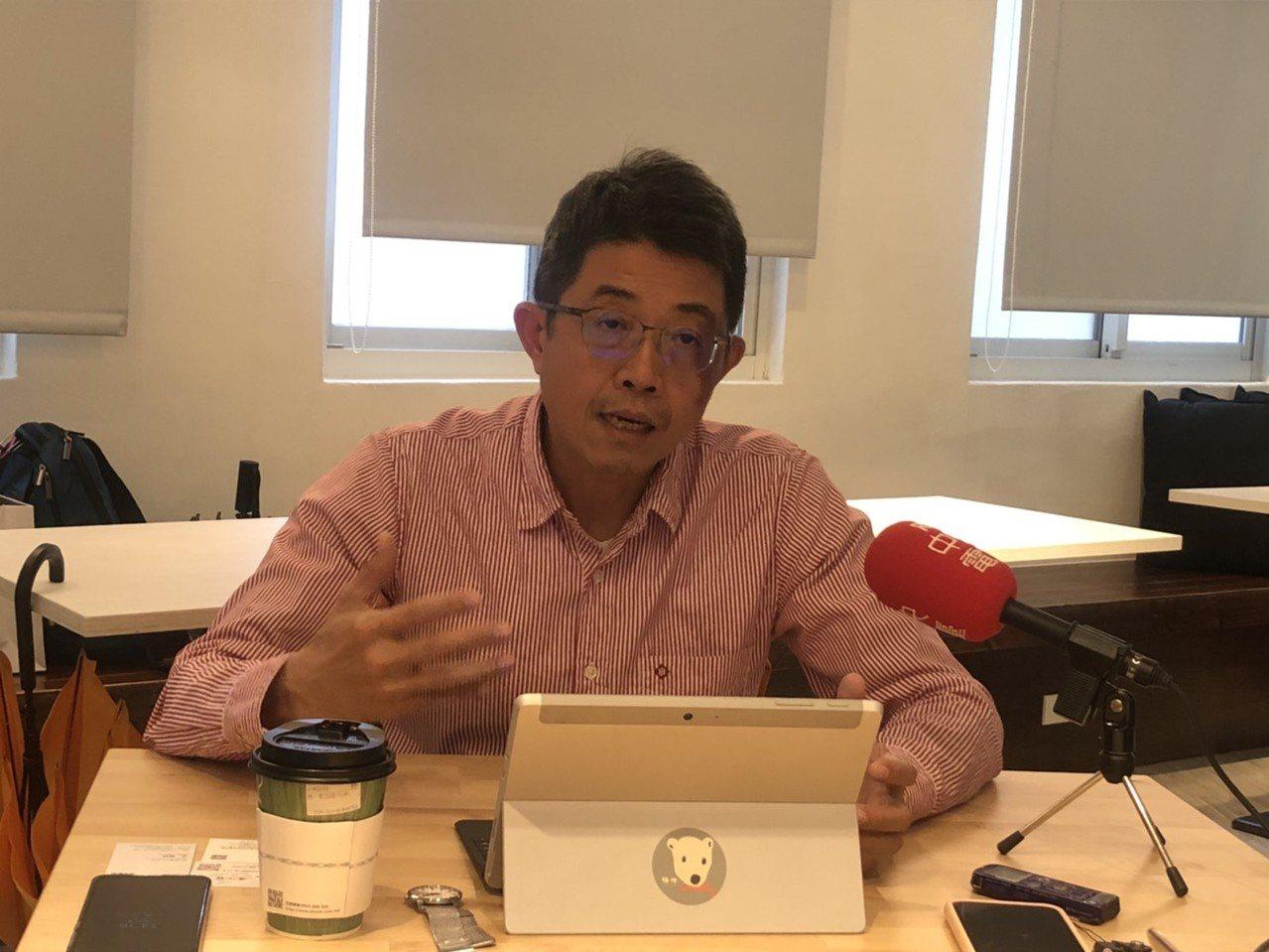 淡江大學運輸管理學系教授張勝雄。記者侯俐安/攝影