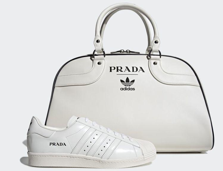 PRADA X adidas限量商品曝光。圖/PRADA提供