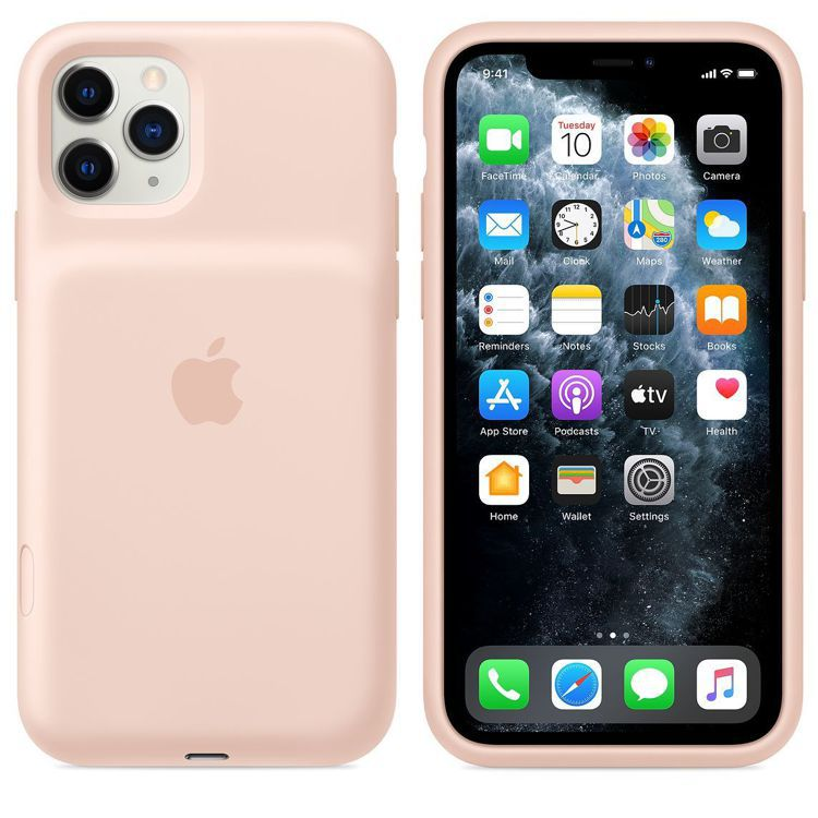 iPhone 11系列聰穎電池護殼,最多可替裝置增加50%的電池續航力。圖/摘自...