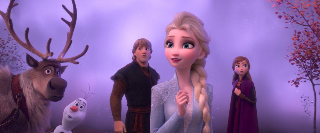 「冰雪奇緣2」劇照。圖/迪士尼提供