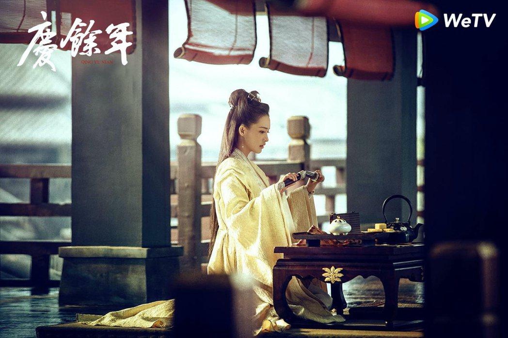 李沁在「慶餘年」中飾演郡主林婉兒。圖/WeTV提供