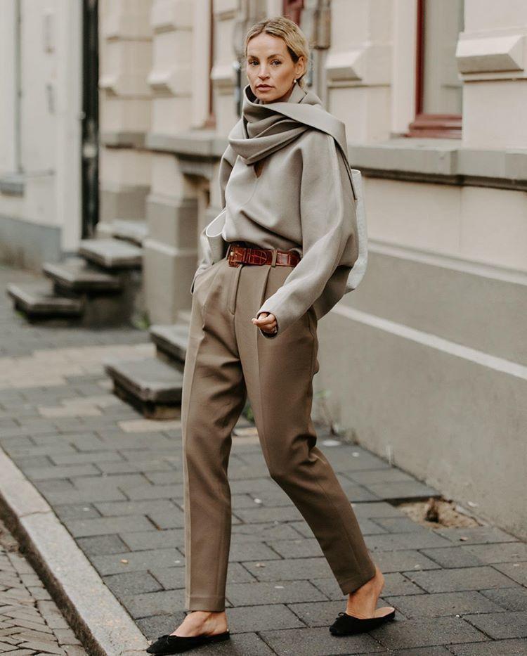 和北歐女孩的極簡主義 x 豪華 CHIC!時尚博主阿努克·伊夫的秋冬禮服建議!