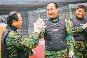 大咖新北輔選 藍軍打漆彈 綠營拜廟