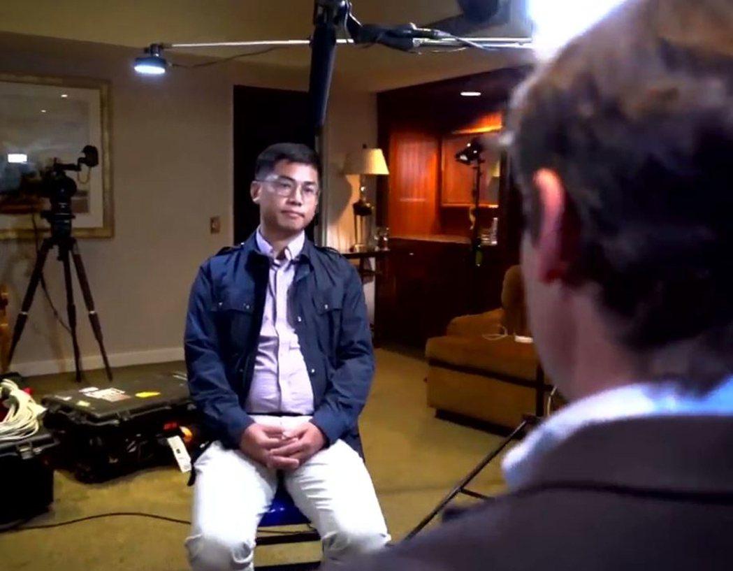 自稱是中國大陸間諜的王立強。圖/取自60 Minutes Australia