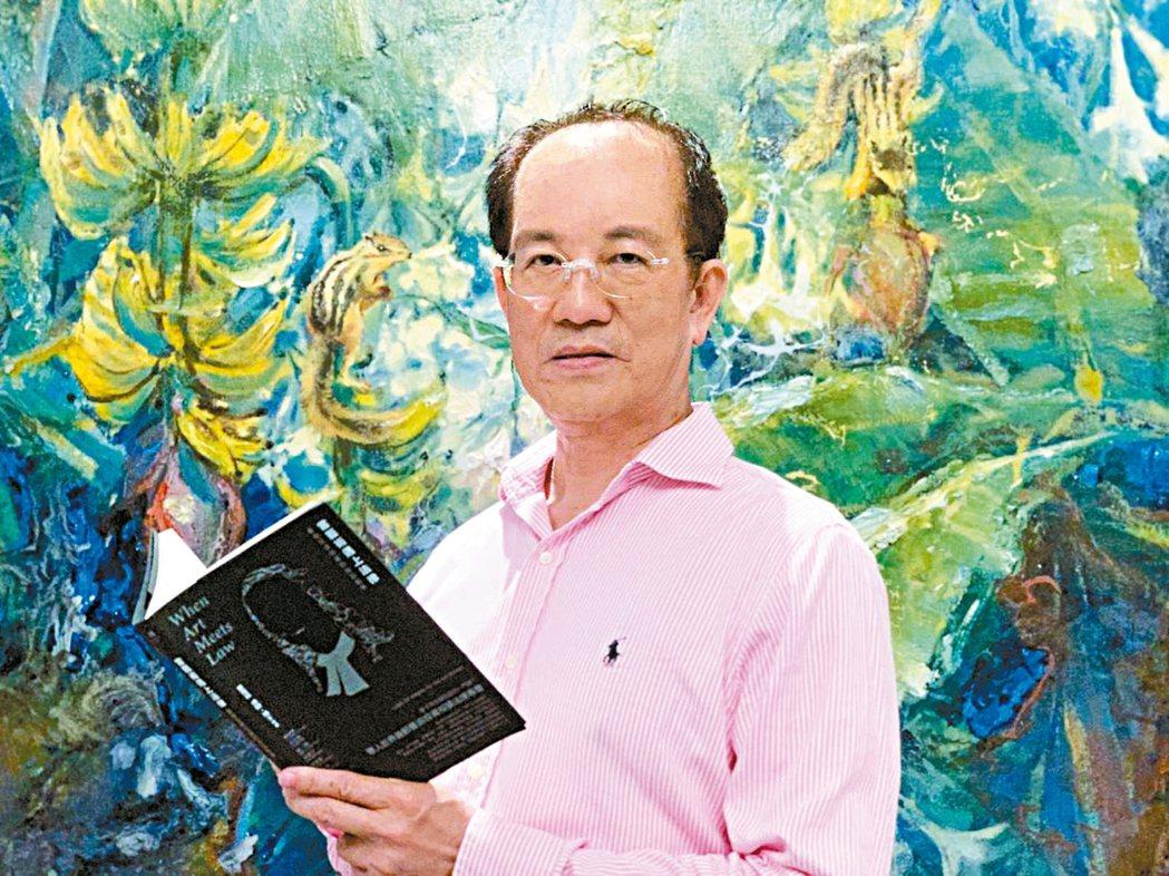 高雄漢王飯店集團總裁林富男表示,購買藝術品如同種樹,看好、走對、放久,才是致富藏...