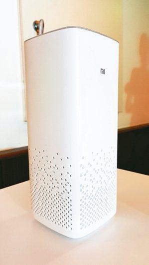 小米AI音箱串接小米智慧家電。 圖/聯合報系資料照片
