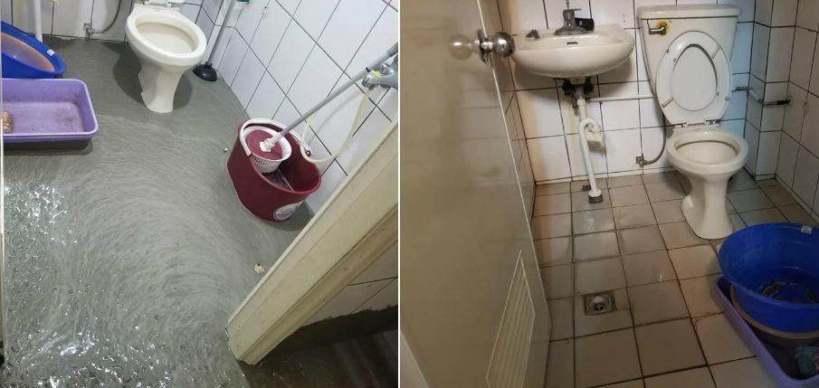 網友看到清理後的照片,感到相當意外「居然清的這麼乾淨」。圖/取自爆怨公社