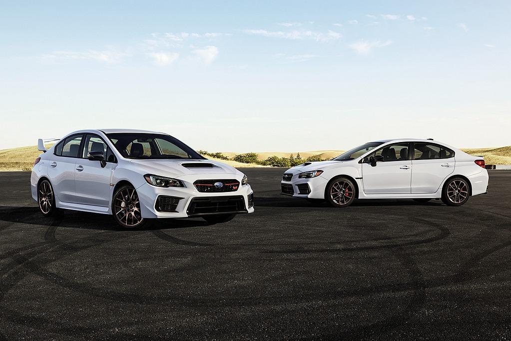 收藏白色版也不錯!Subaru WRX/WRX STI White Limited Edition限量發售