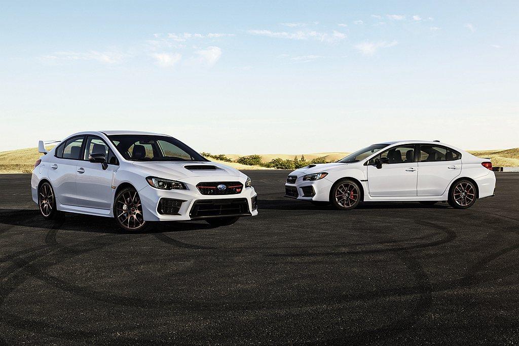 Subaru汽車於美國洛杉磯車展推出WRX/WRX STI White Limi...