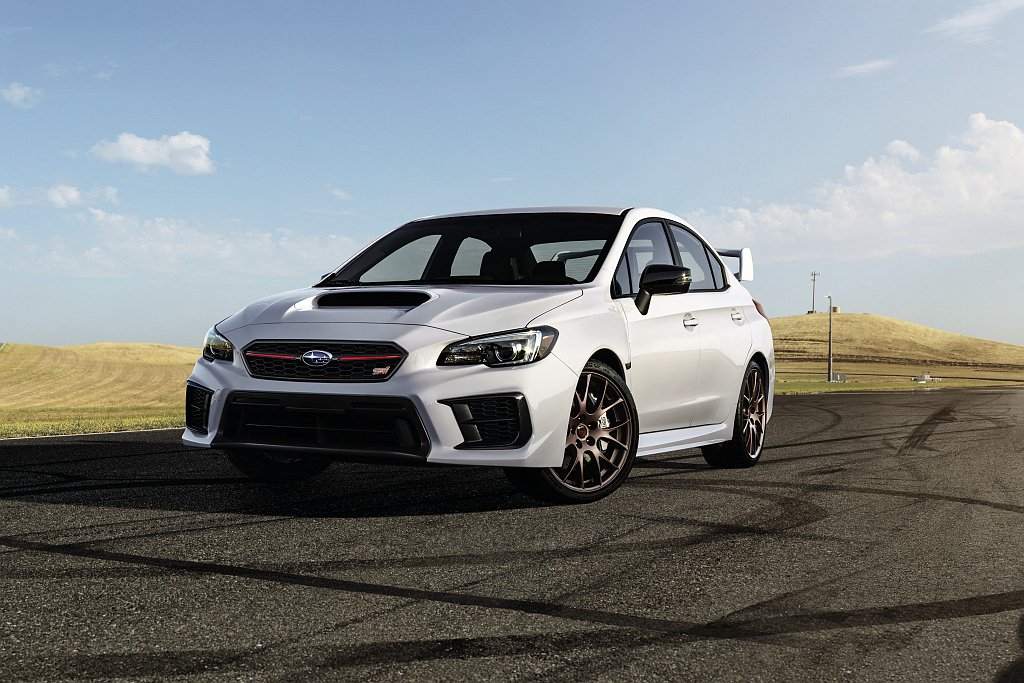 Subaru WRX/WRX White Limited Edition特仕車於...