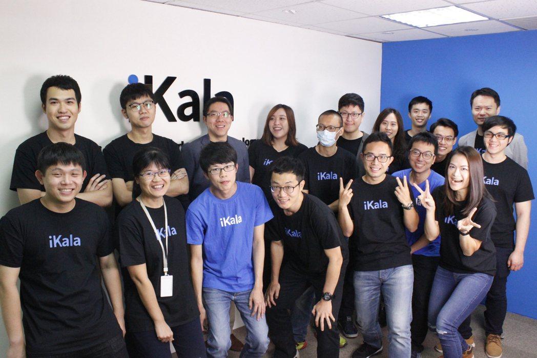 摘下數位奇點獎銅獎作品的AI自動修圖服務Picaas團隊。 iKala /提供