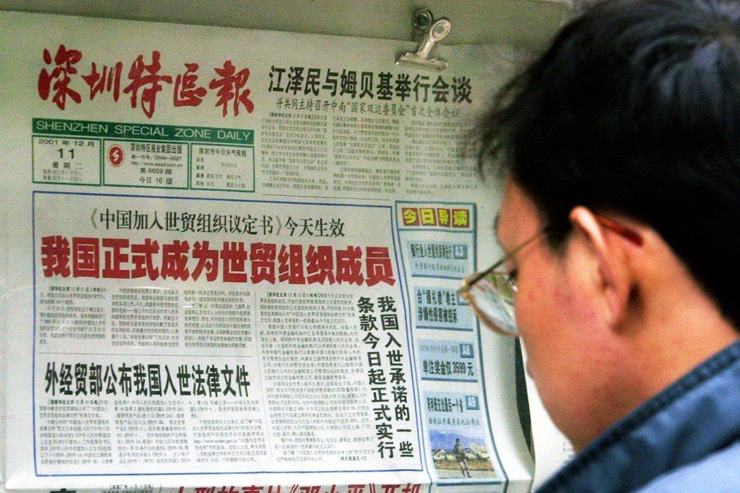 2001年中國加入WTO,在引進電影數量上,大抵依承諾進行。然而,如何引進以及票...