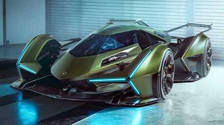 阿斯拉終於問世?藍寶堅尼推出Lambo V12 Vision GT虛擬概念車!