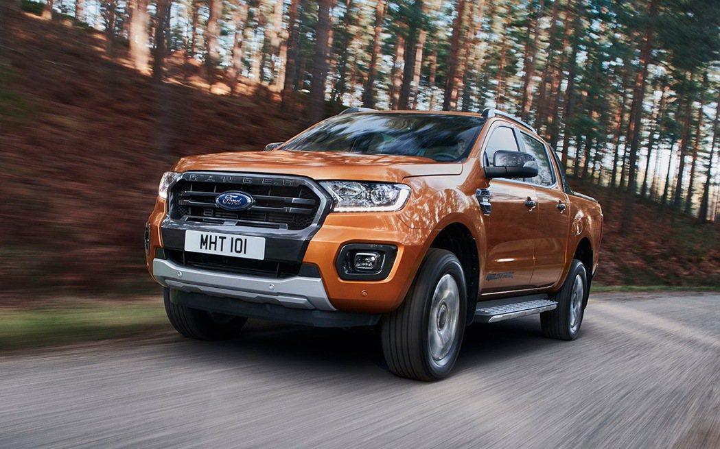 Ford Ranger獲得2020國際皮卡大獎(IPUA)殊榮。 圖/福特六和提...