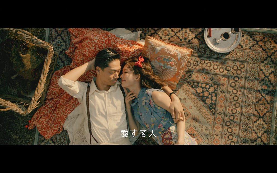 林志玲與AKIRA為「三代目J Soul Brothers」拍攝兩首新歌〈凜冬天...