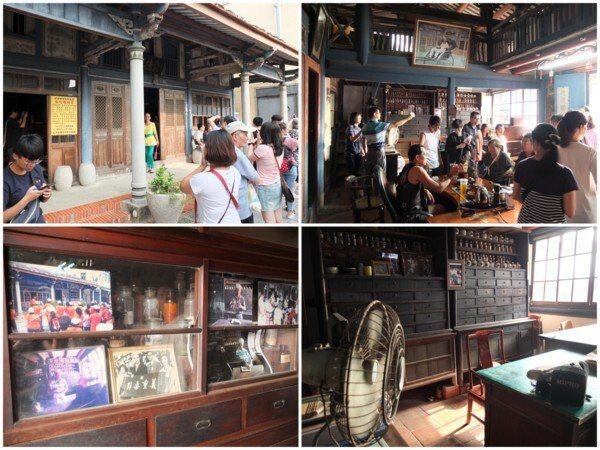 超過百年歷史的「金德興中藥舖」因《俗女養成記》拍攝場景而爆紅,已成菁寮老街上人氣最高的景點。
