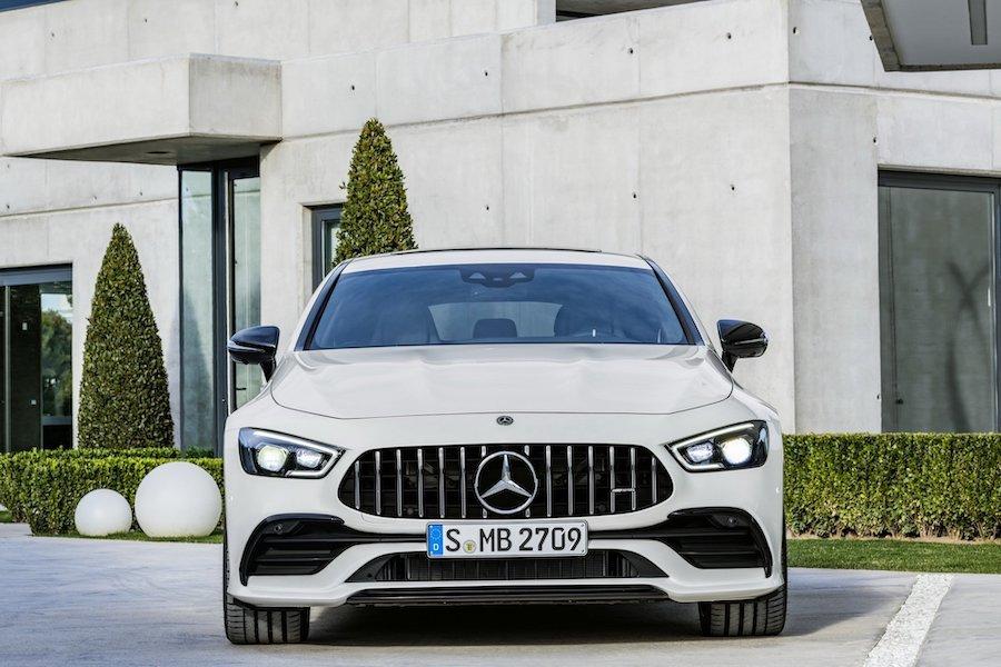 Mercedes-AMG GT 4-Door Coupe車款 明年加入plug-in hybrid動力