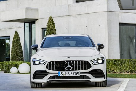 Mercedes-AMG GT 4-Door Coupe車款 明年加入plug-in hybrid動力