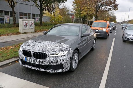 小改款BMW 5-Series再度捕獲 M Sport套件上身!