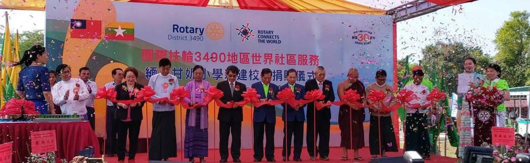 台灣愛心飛越2578公里,為緬甸甘妮小學重建校園,經過經過626天設計建造,小學...