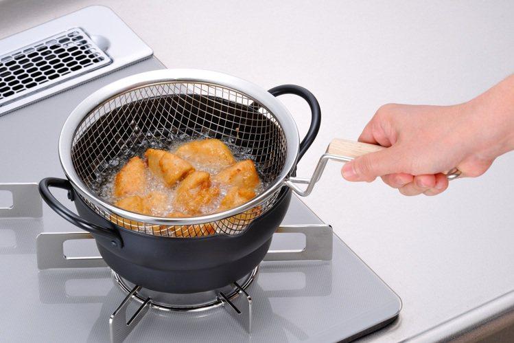 11月27日至12月8日天母SOGO周年慶,台隆手創館獨家推出日本製油炸鍋(附網...