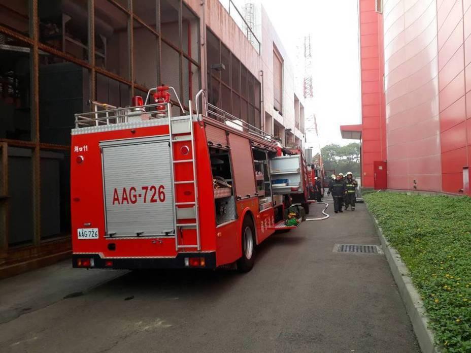 新竹縣消防車示意圖。圖與本案無關。示意圖/新竹縣消防局提供