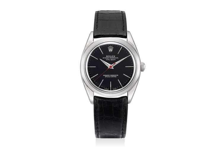 勞力士Ref.6558「True Beat」腕表,以機械機芯模仿石英機芯的秒針瞬...