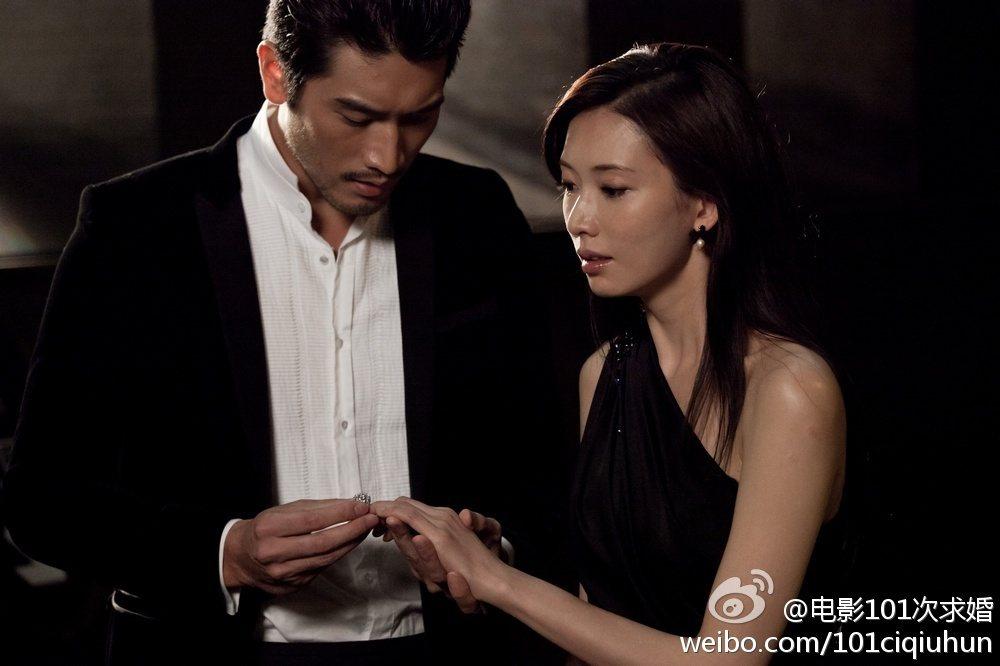 高以翔曾和林志玲合作電影。 圖/擷自微博