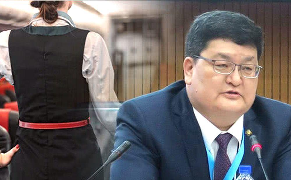 蒙古國憲法法院院長歐德巴亞爾。(翻攝自騰訊網)
