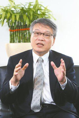 財金公司董事長林國良 記者蘇健忠/攝影