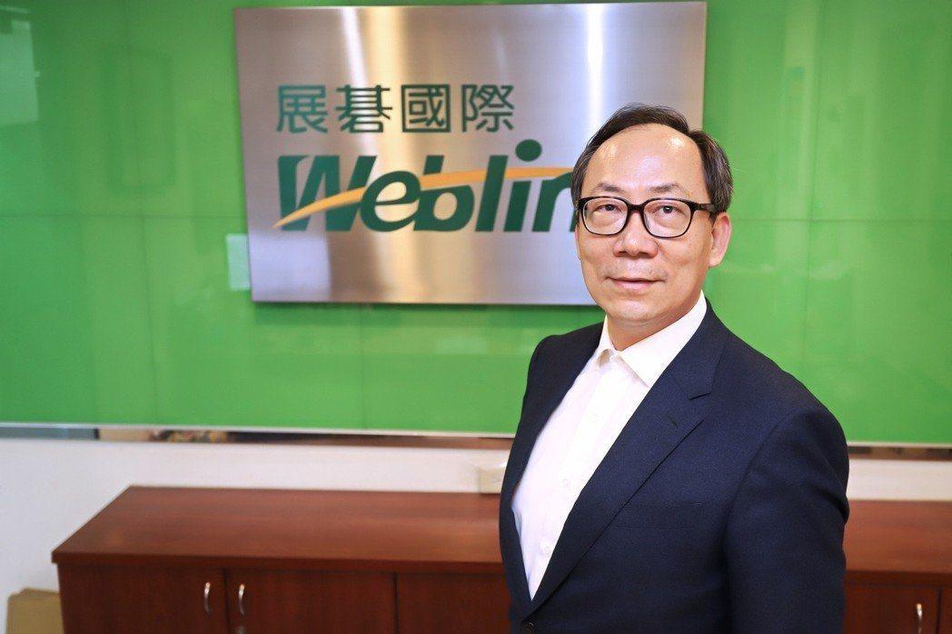 展碁國際總經理林佳璋。 報系資料庫。