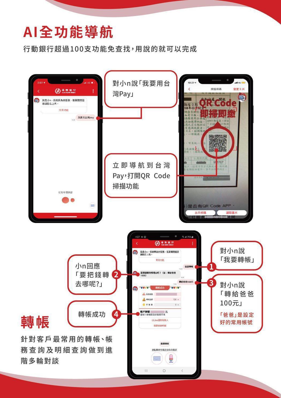 華南AI行動銀行為台灣首次將IBM Watson Assistant自然語意認知...