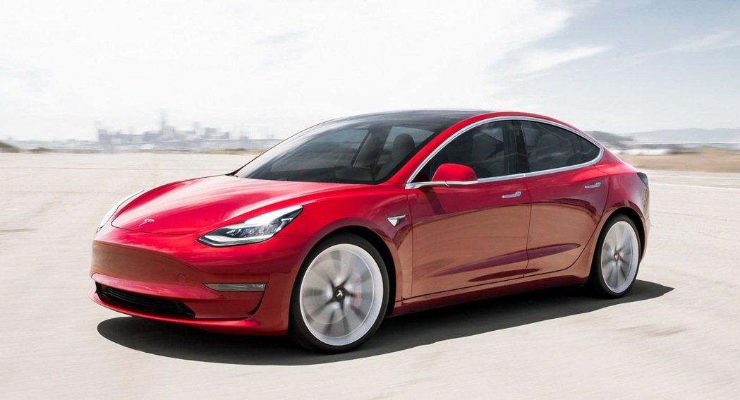 Tesla Model 3在台上市後,也帶動品牌銷售成績。 圖/摘自carsco...