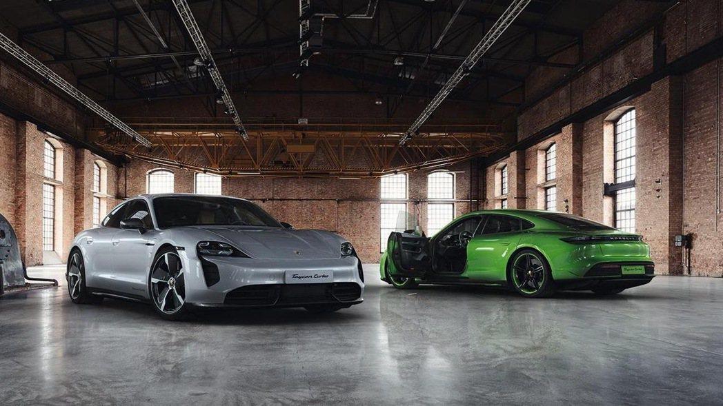 Porsche Taycan最快將由台北車展首度在台亮相。 圖/摘自carsco...
