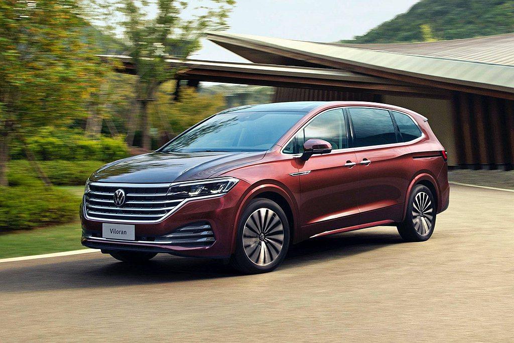 福斯汽車旗下最大的MPV車款Viloran,於中國廣州車展首發。 圖/Volks...