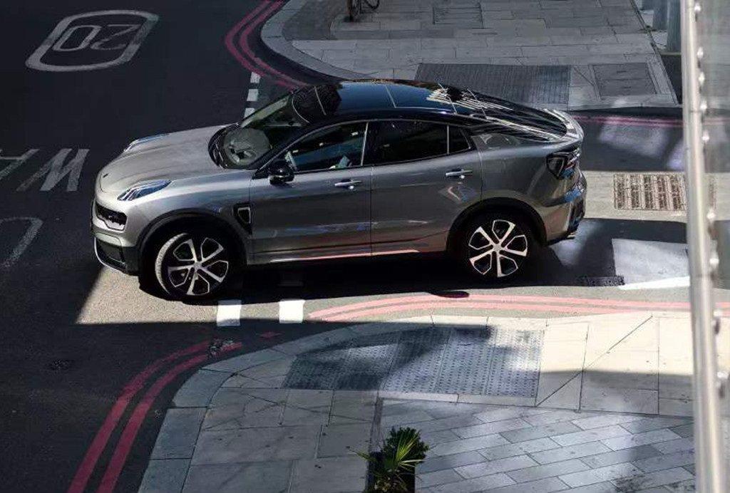 領克05將是品牌首部SUV Coupe車型。 摘自領克汽車微博
