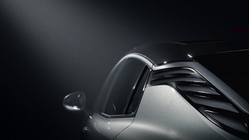 領克05在D柱採用類百葉窗造型設計。 摘自領克汽車微博