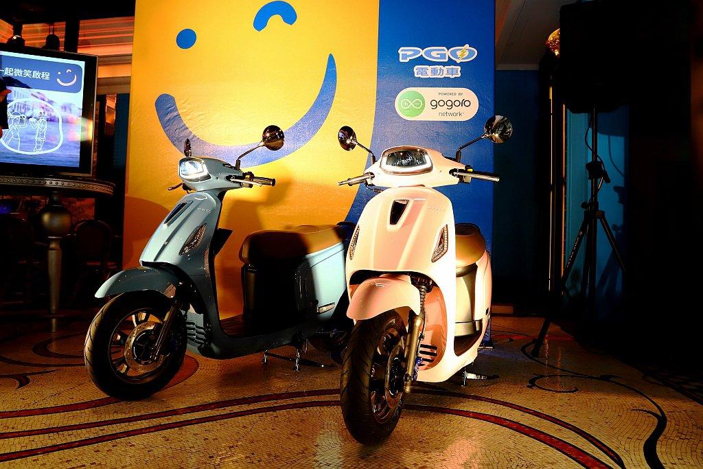 PGO智慧電動機車Ur1終於發表上市。 記者張振群/攝影