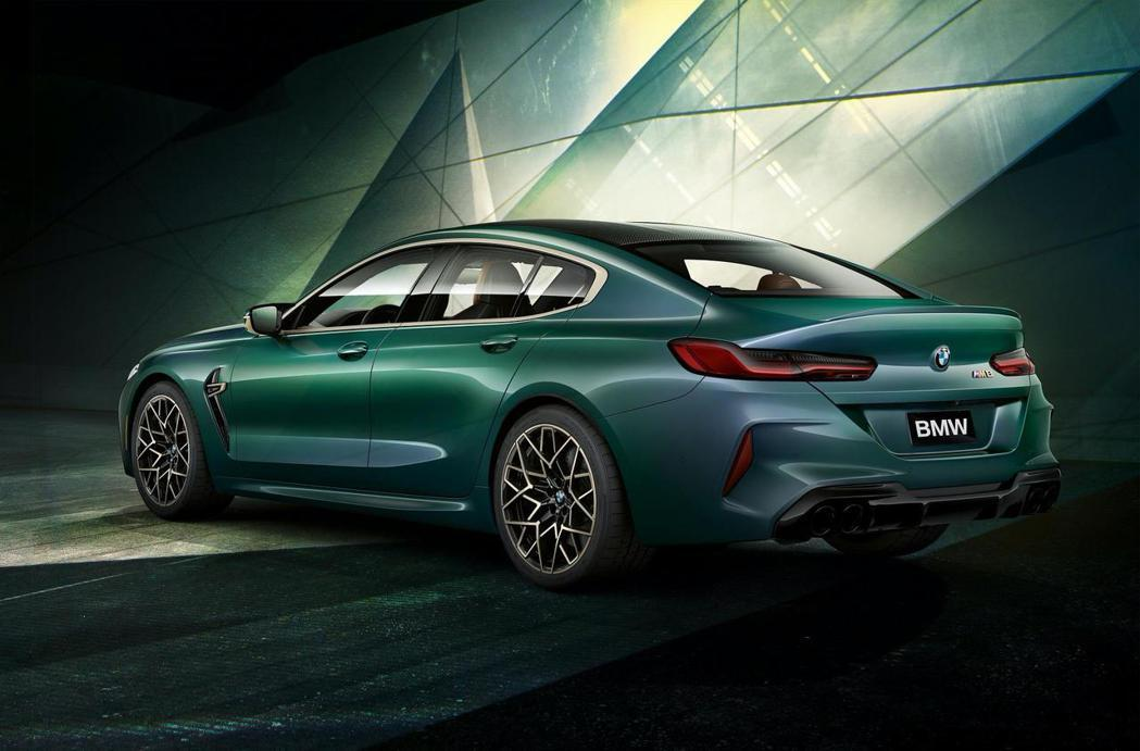 BMW M8 Gran Coupe First Edition。 摘自BMW