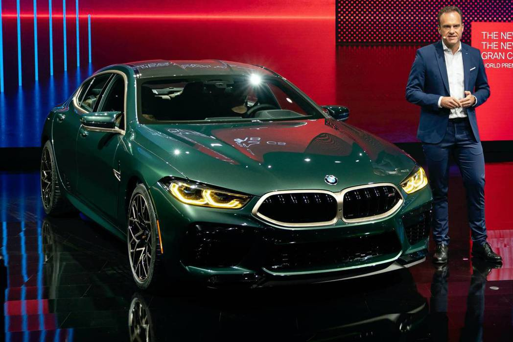 BMW M8 Gran Coupe First Edition在洛杉磯車展中驚喜...