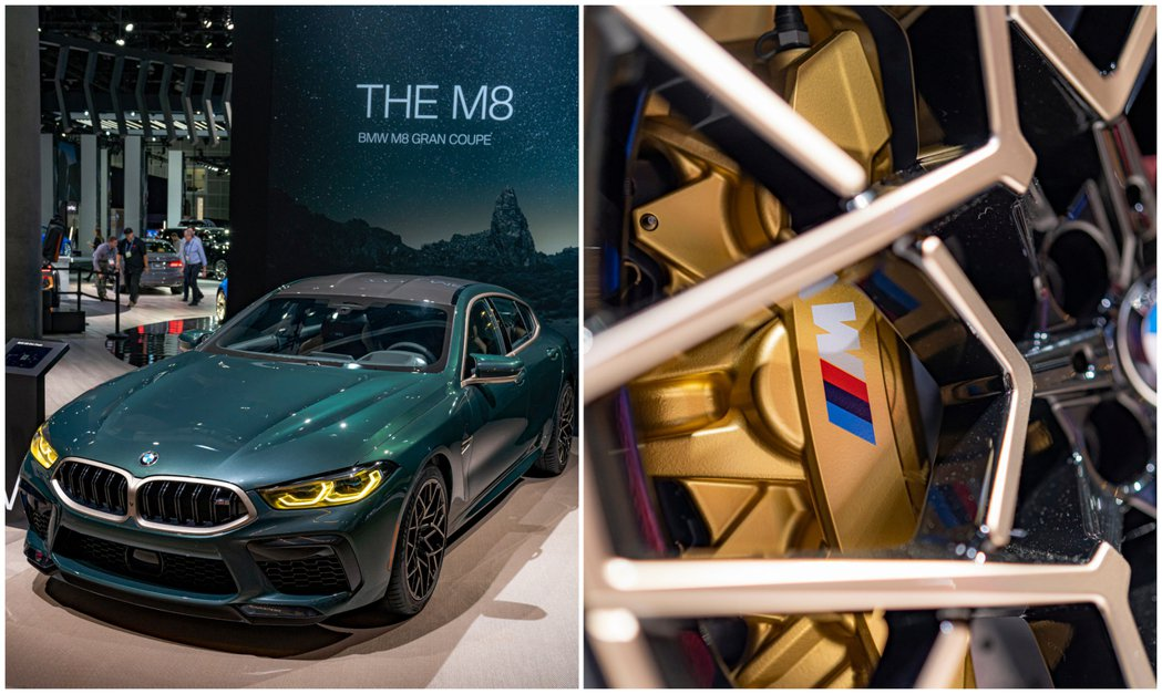 BMW M8 Gran Coupe First Edition與去年露出的概念車...